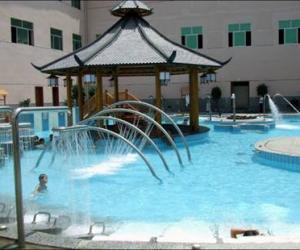 Heiße Quelle-Wanfu Health Erholungszentrale mit Mineralwasser