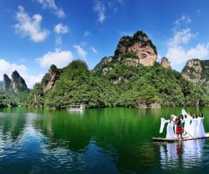 Das Landschaftsgebiet Wulingyuan