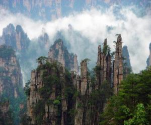 Das Naturschutzgebiet Tianzi Shan