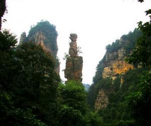 Das Naturschutzgebiet Yangjiajie